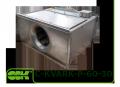 C-KVARK-P-60-30-28-2-380 вентилятор канальный прямоугольный с трехфазным электродвигателем