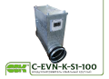 Нагреватель воздуха C-EVN-K-S1-100-1,2 канальный электрический