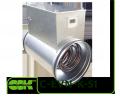 Электрический нагреватель воздуха C-EVN-K-S1-250-3,0  для круглых каналов