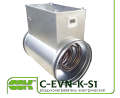 The heater C-EVN-K-S1-250-9,0 electric channel for round ducts