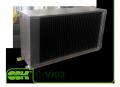 Водяной охладитель воздуха канальный C-VKO-90-50. Охладители воздуха