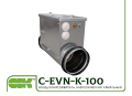 Air Heater C-EVN-K-100-1,2 electrical channel