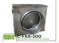 Фильтр для канальной вентиляции C-FKK-200