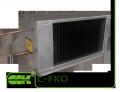 C-FKO-100-50 канальный фреоновый воздухоохладитель