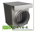 Heater C-KVN-K-250 water for round channels