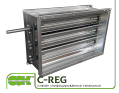 C-REG-60-35-0 клапан канальний вентиляційний