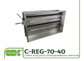 C-REG-70-40-0 клапан воздушный канальный