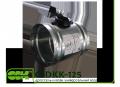 Дроссель-клапан C-DKK-125 универсальный для канальной вентиляции