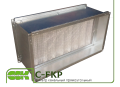Luftfilter duct rechteckige C-FKP-90-50