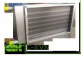 Водяной воздухонагреватель для прямоугольных воздуховодов C-KVN-40-20-2
