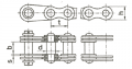 Цепь грузовая пластинчатая ГОСТ 191-82