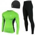 Женский спортивный костюм для бега Radical Intensive зелено-черный