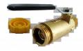 Клапан заливной наполнительный с краном Rego 7501 еврозалив