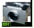 Kanalventilator mit rückwärts gekrümmten Schaufeln C-VENT-PB-250B-4-220