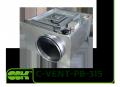 C-VENT-PB-315А-4-220 вентилятор для круглих каналів з назад загнутими лопатками