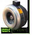C-VENT-200В вентилятор канальный для круглых каналов
