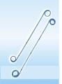 Стент стандарт с открытым (SOT Н + G) или закрытым концом (SS-Н + G) в наборе с толкателем, клеммой и струной