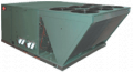 Having electroheated roof RUUD conditioners (USA), R-410A.