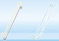 Мочеточниковый стент Longlife для длительной постановки + в наборе с толкателем, клеммой и струной (SOT PRO + G)