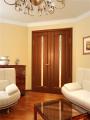 Дверь межкомнатная деревянная двухстворчатая модель 27