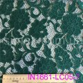 Гипюровая стрейчевая ткань, Код: IN1661-LC05-7 Бирюза
