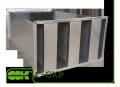 C-GKP-50-25 шумоглушник пластинчастий канальний