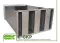 C-GKP-80-50 шумоглушитель пластинчатый канальный