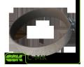 Хомут C-MK-150 быстроразъемный монтажный для круглых каналов