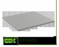Roof KP-KRS-80-80 of precipitation for ventilation