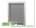 Grate KP-RKO (RKA) -80-80 unregulated ventilation