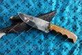 Нож охотничий ручной работы Бизон,производство Украина