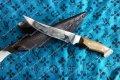 Нож охотничий тигр (ручной работы),кожаный чехол в подарок