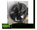 C-OZA-P-040-380 вентилятор канальный осевой монтаж пластиной к стене