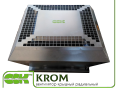 Roof fan KROM-5-0,52 groove of small height