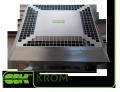 Крышный вентилятор KROM-5,6 радиальный малой высоты