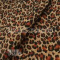 Ткань Вельвет (леопард) 6569