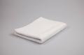 Полотенце гладкокрашенное (белое), 40х70см