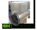 Электрический воздухонагреватель C-EVN-K-S2-200-3,0 для круглых каналов