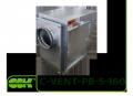 C-VENT-PB-S-160В-4-220 вентилятор канальный с назад загнутыми лопатками в шумоизолированном корпусе