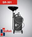 Установка для сбора и вакуумного отбора масла SkyRack SR-301