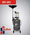 Установка для сбора и вакуумного отбора масла с предкамерой SkyRack SR-302
