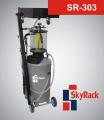 Установка для сбора и вакуумного отбора масла с предкамерой SkyRack SR-303