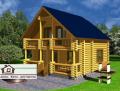 Проект дома со сруба площадью 105 м2