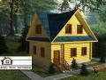 Деревянные дома за границу