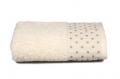 Махровое полотенце (коричневое) 50х90