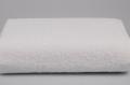 Полотенце гладкокрашенное  (белое), 70х140