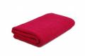 Полотенце гладкокрашенное (бордовое), 100х150