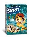 Сухие завтраки «Веселый Роджер», 300г, 500г. Пищевая ценность на 100 г продукта:  Белки: 7; Жири: 4; Углеводы: 71; Энергетическая ценность: 350