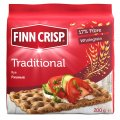 FINN CRISP Small loafs from tselnosmoloty rye flour. Weight: 200 g. Proteins: 9 g, Zhiri: 2,9g; Carbohydrates: 9 g; kcal: 344