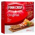 FINN CRISP Παξιμάδια σίκαλης Original. Καθαρό βάρος: 100g, 200g, 400g Πρωτεΐνη 10 Λίπος 2.6 Υδατάνθρακες: 61 ενέργειας resou. τιμή: 347 kcal